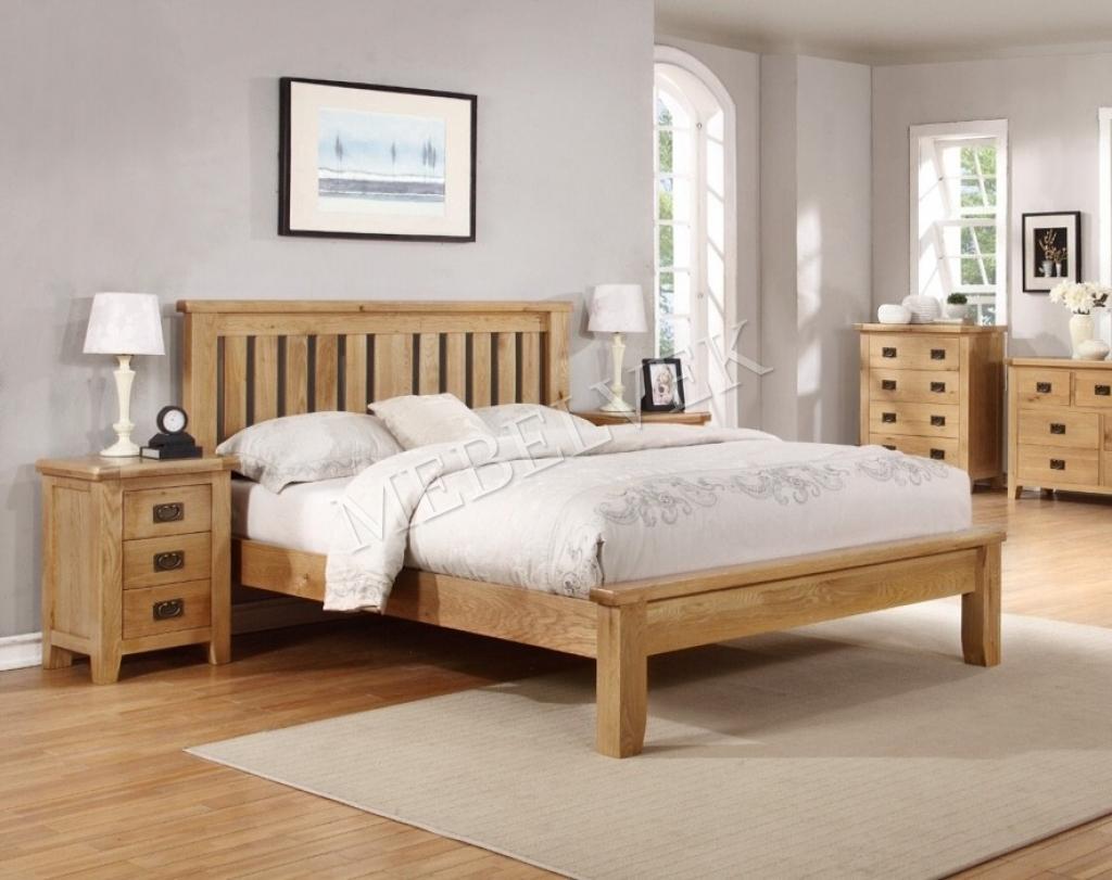 Кровать Фабриано 301 из дуба