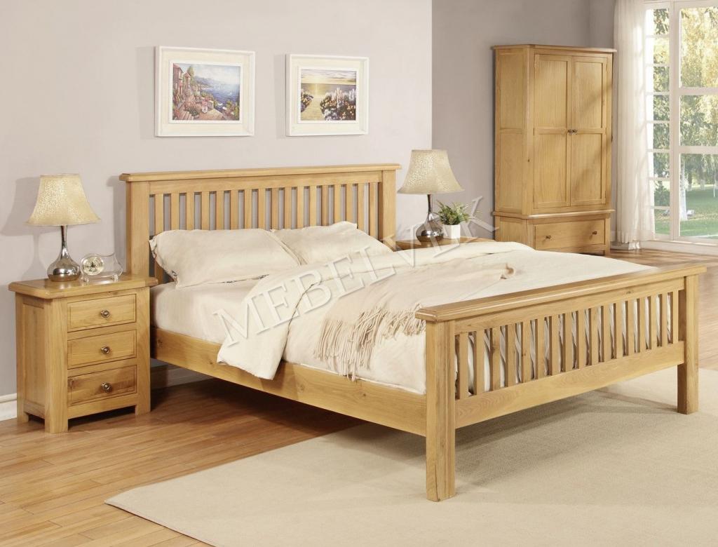 Кровать Фабриано-302 из дуба
