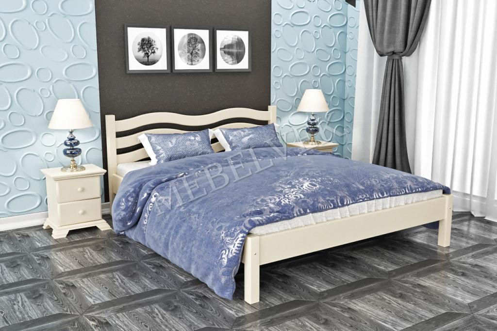 Кровать Флора  из дуба