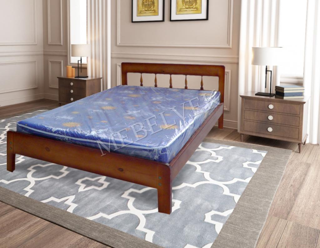 Кровать с матрасом полутороспальная Алиса