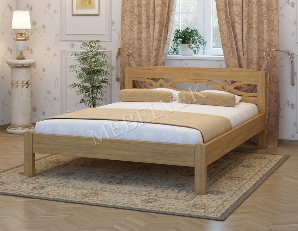 Кровать Альмерия из дуба