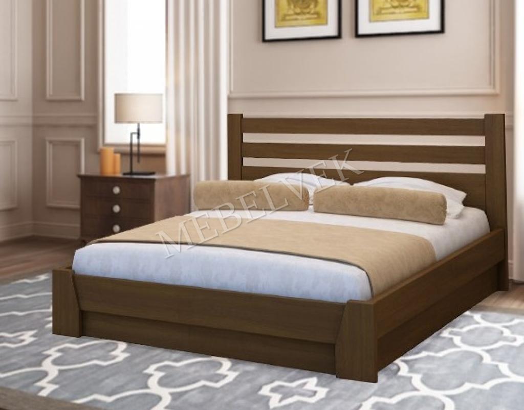 Кровать Брага из дуба