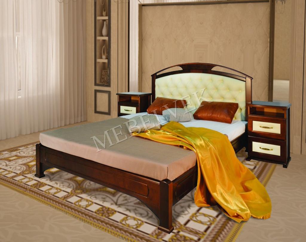 Кровать Дублин 1 с мягким изголовьем