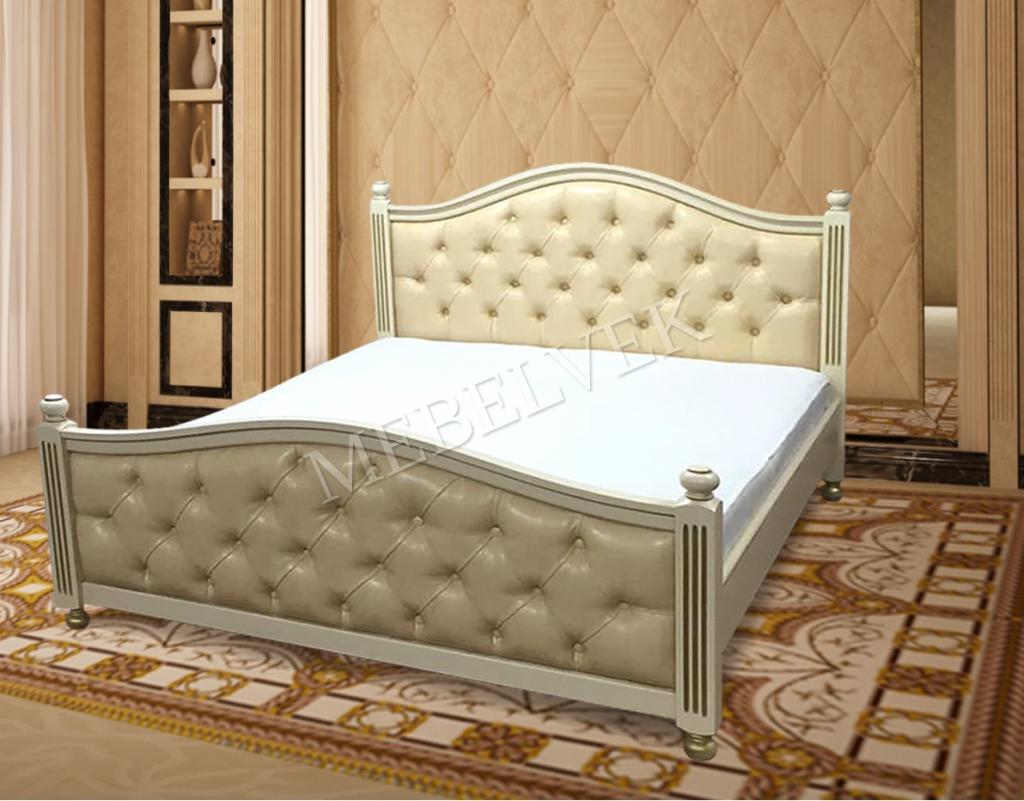 Кровать Дублин из массива березы
