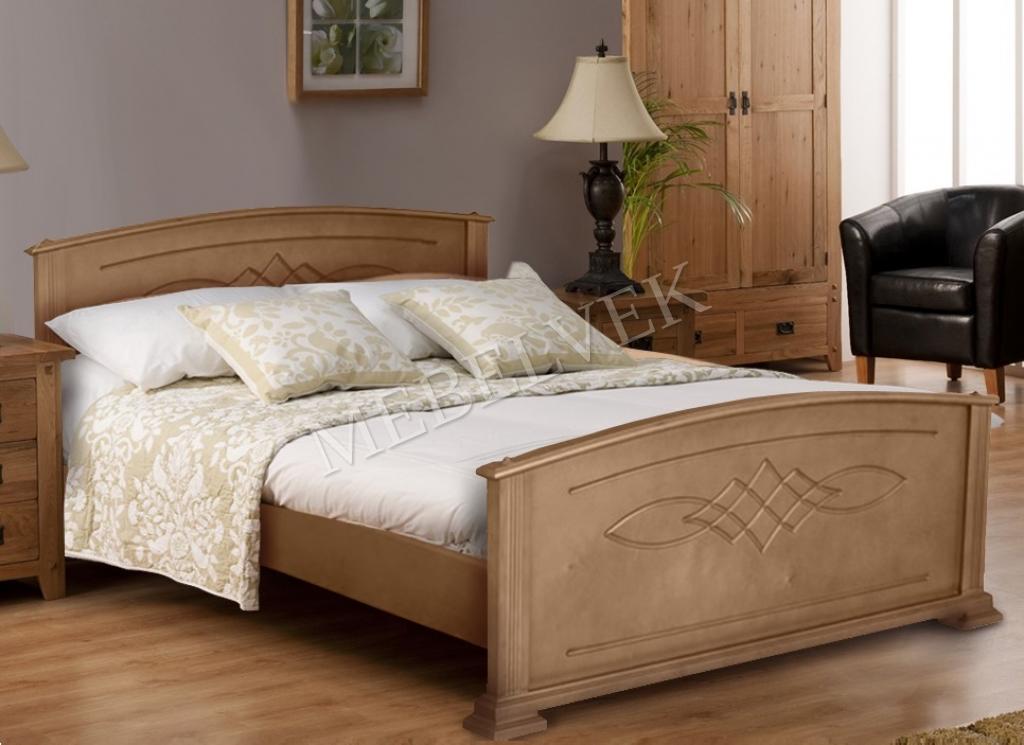 Кровать Эжени из ясеня