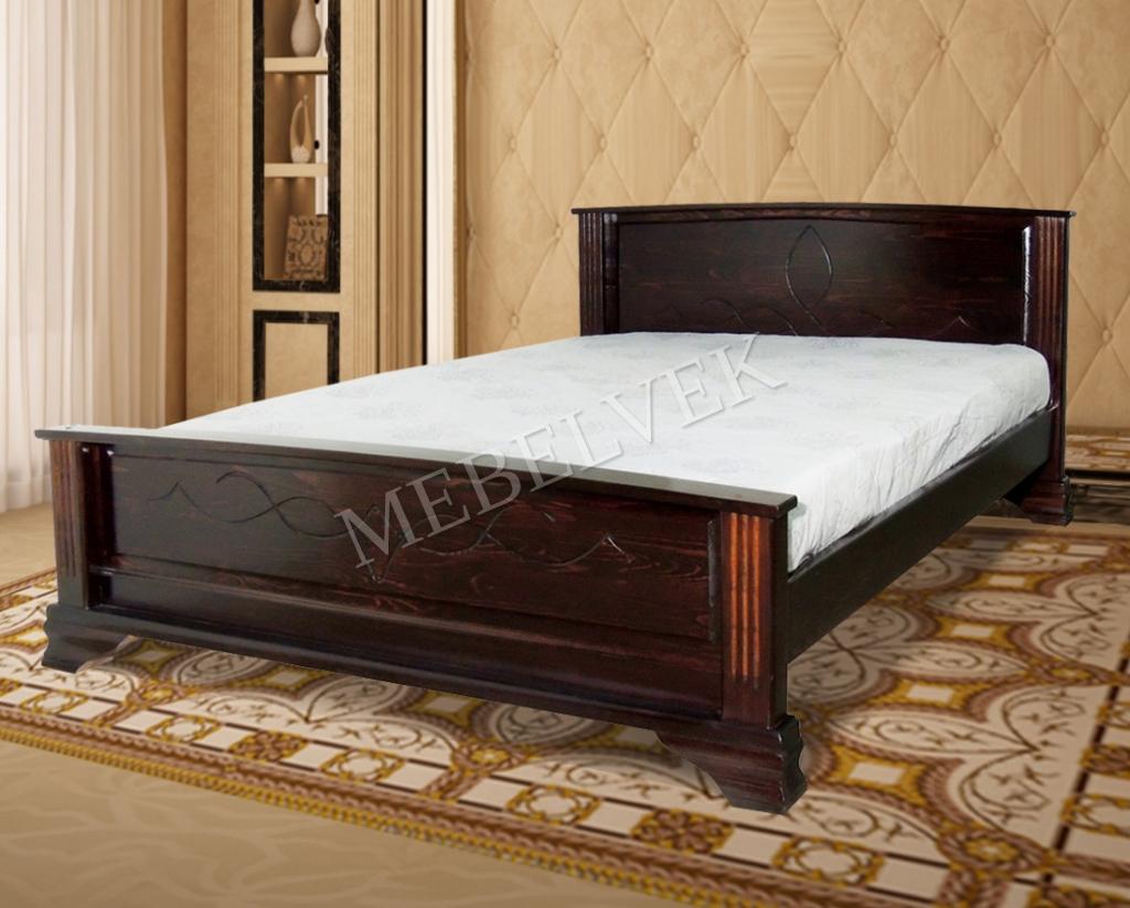 Кровать Этель из ясеня