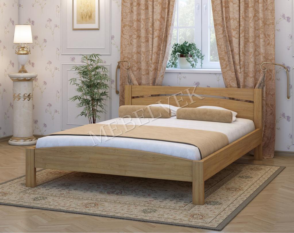 Деревянная кровать Гавр