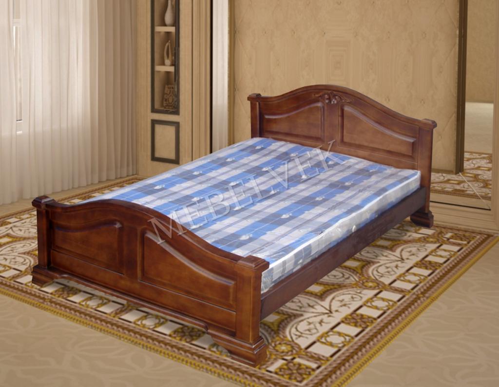Кровать Гефест 1 из дуба