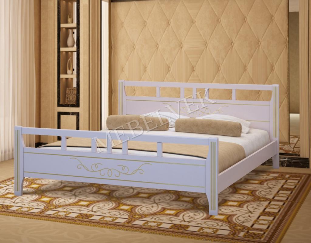 Кровать Монако из дуба