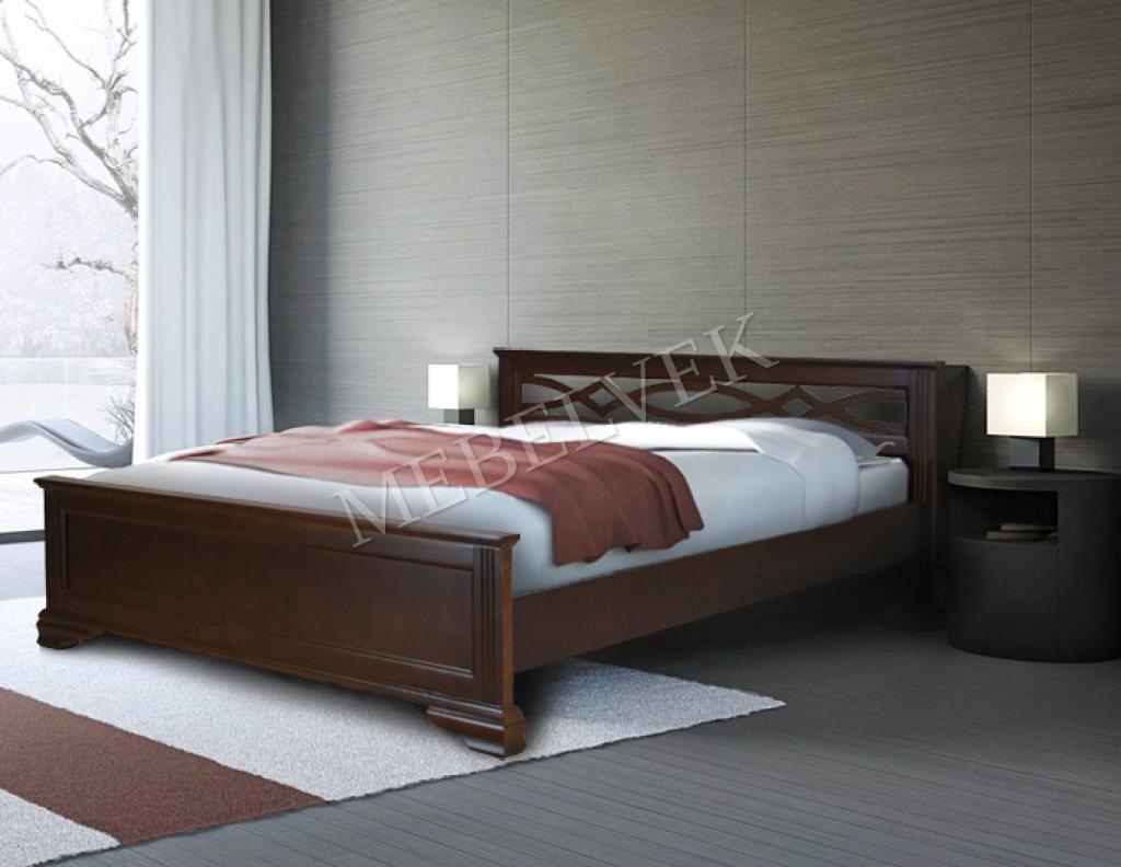 Кровать Муза из ясеня
