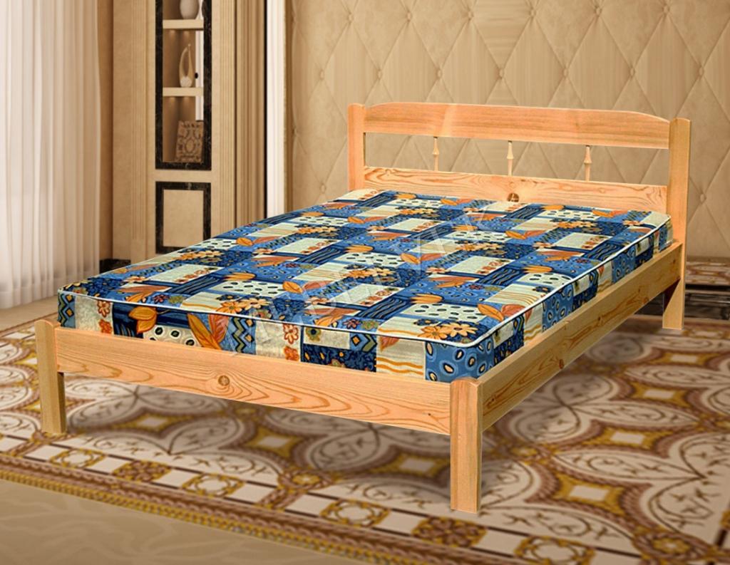 Кровать с матрасом полутороспальная Океан