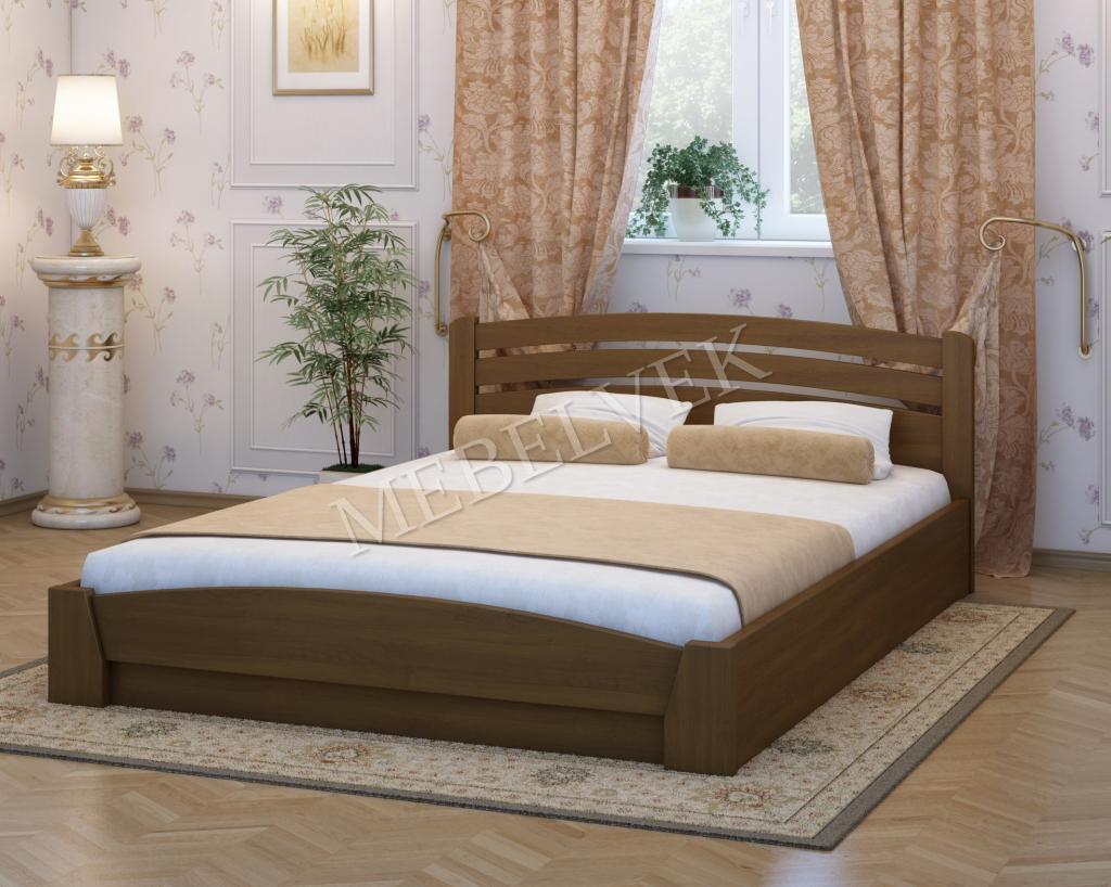 Кровать Ольборг из ясеня