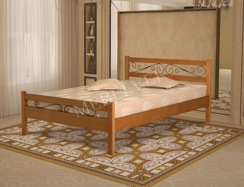 Кровать Палаццо с ковкой