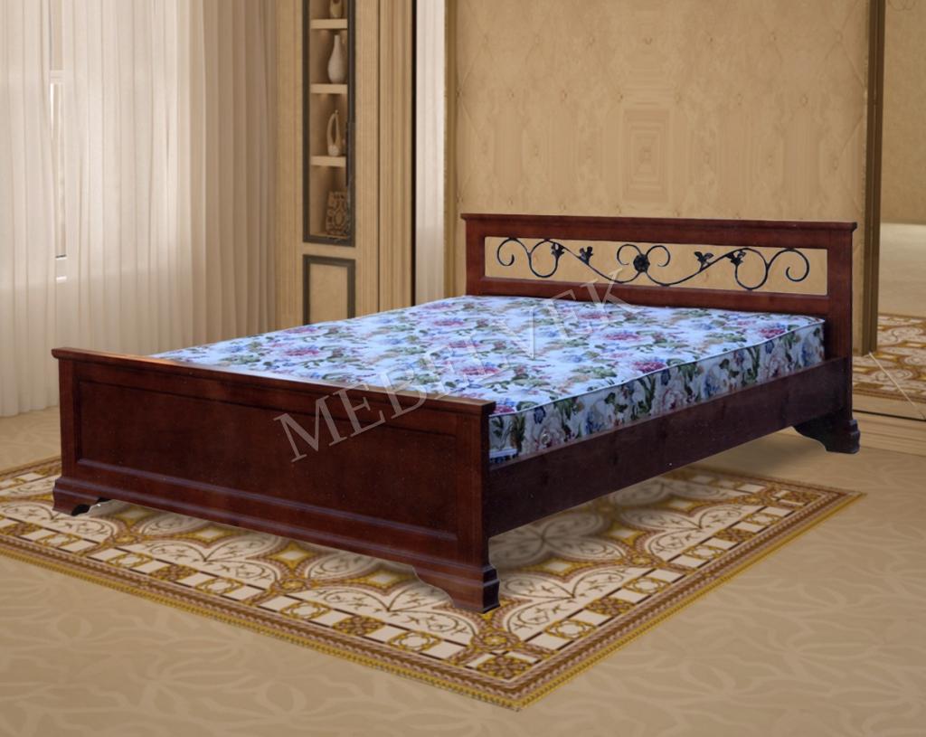 Кровать Париж с ковкой