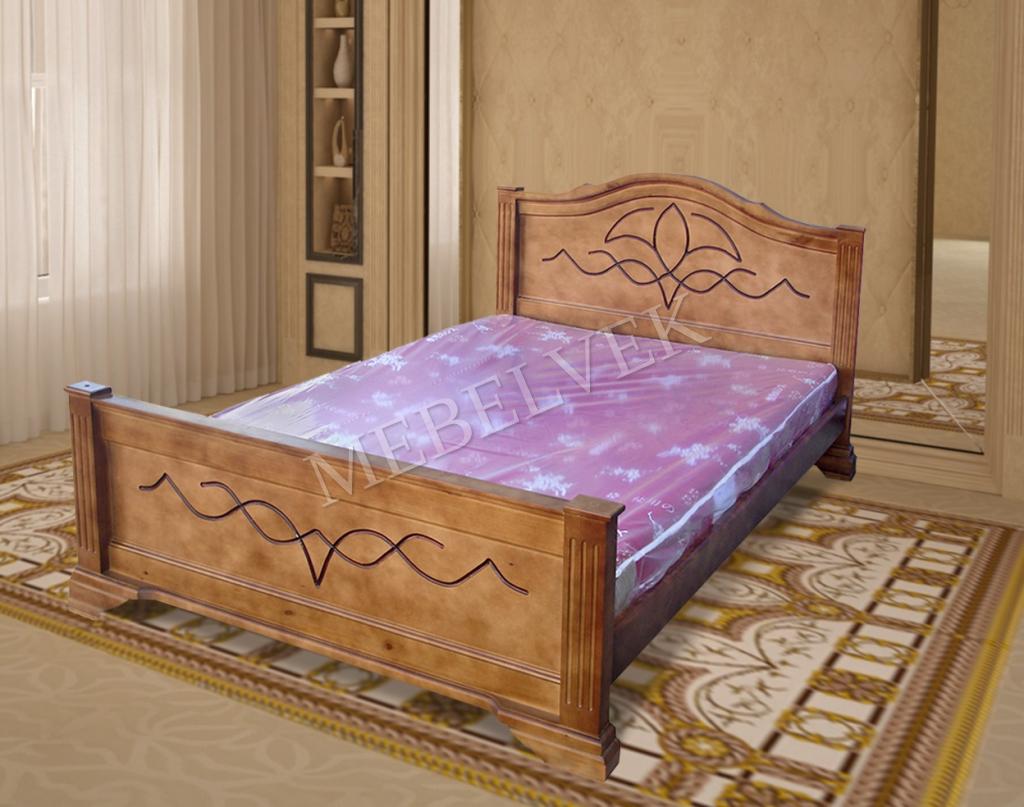 Кровать Римини из бука