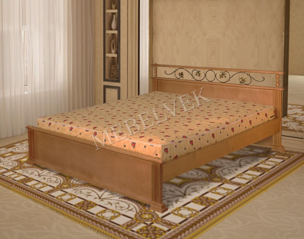 Кровать Рондо с ковкой