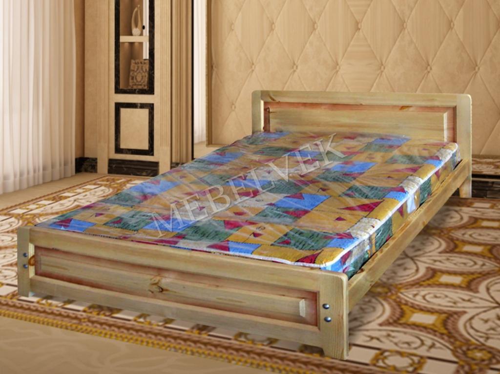 Деревянная кровать Троя