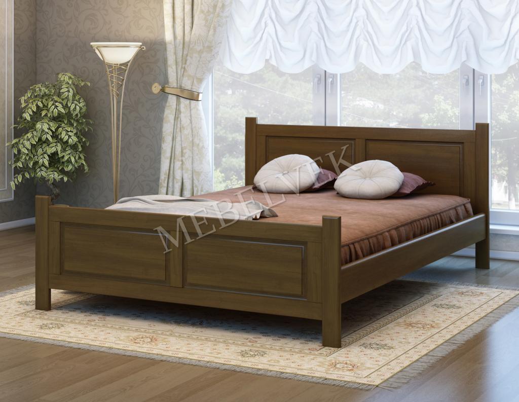 Кровать Варна из массива березы