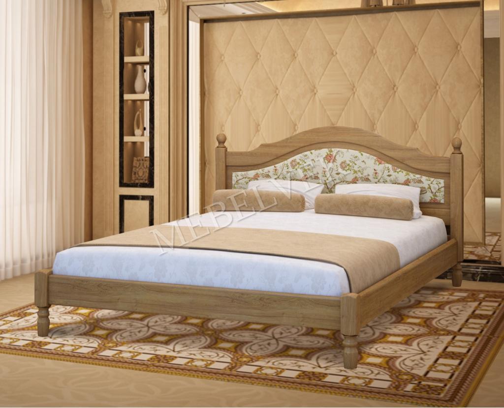 Кровать Виктория с мягким изголовьем