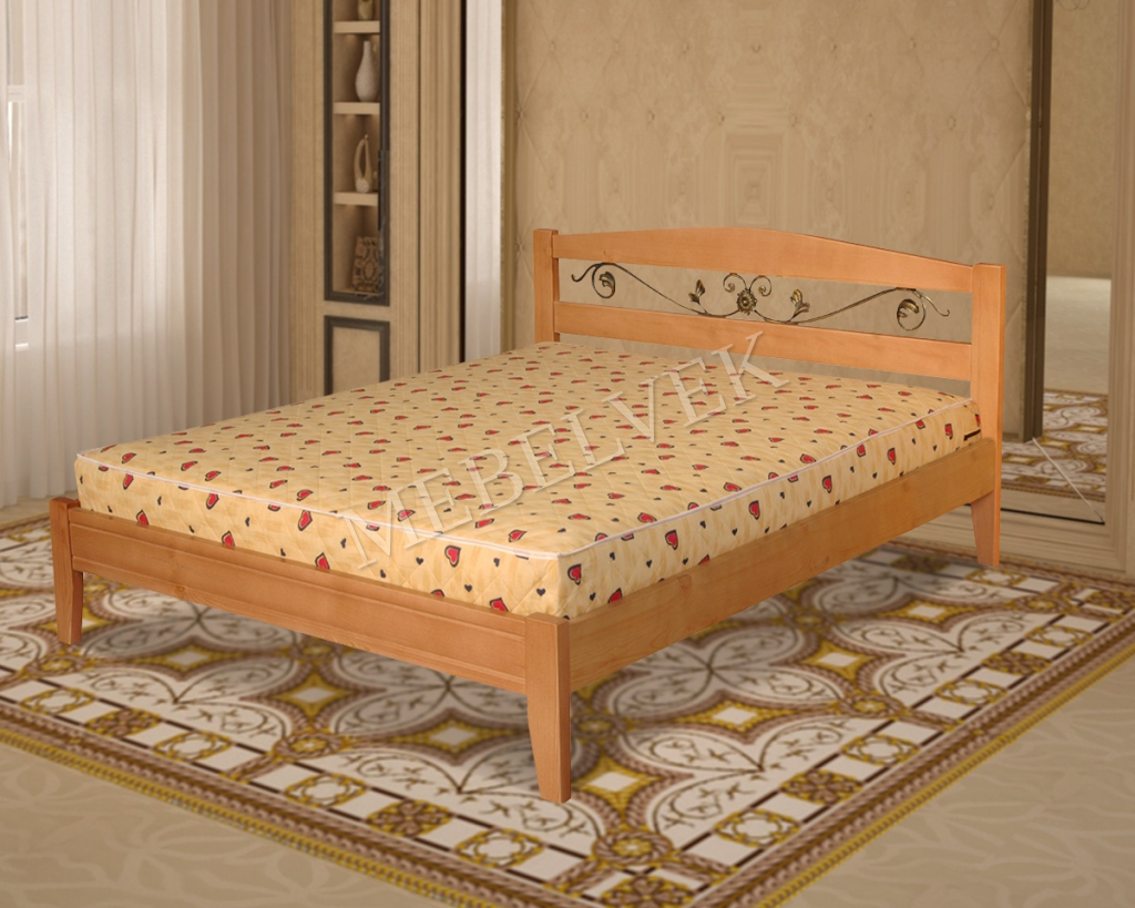 Кровать Виелла с ковкой