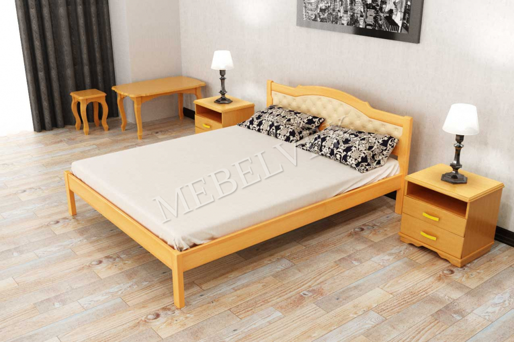 Кровать Мелодия  из дуба
