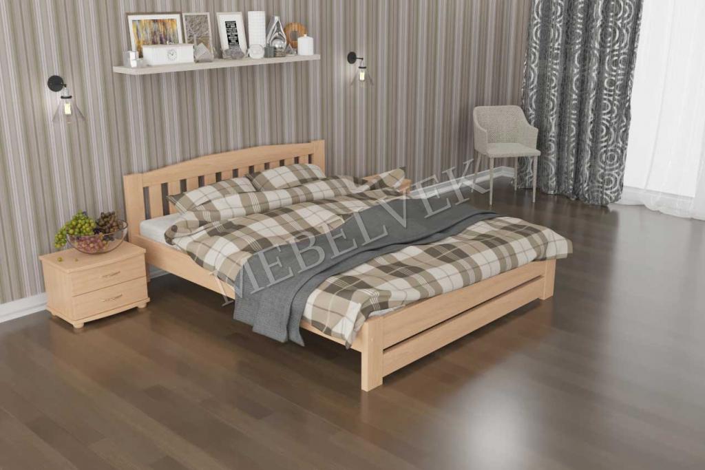 Кровать Орхидея из ясеня