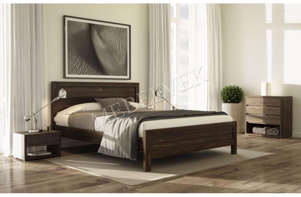 Кровать Сантия 80х200 с матрасом
