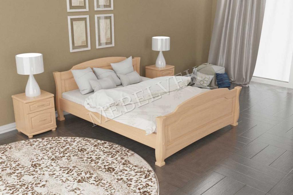 Кровать Сена из массива березы