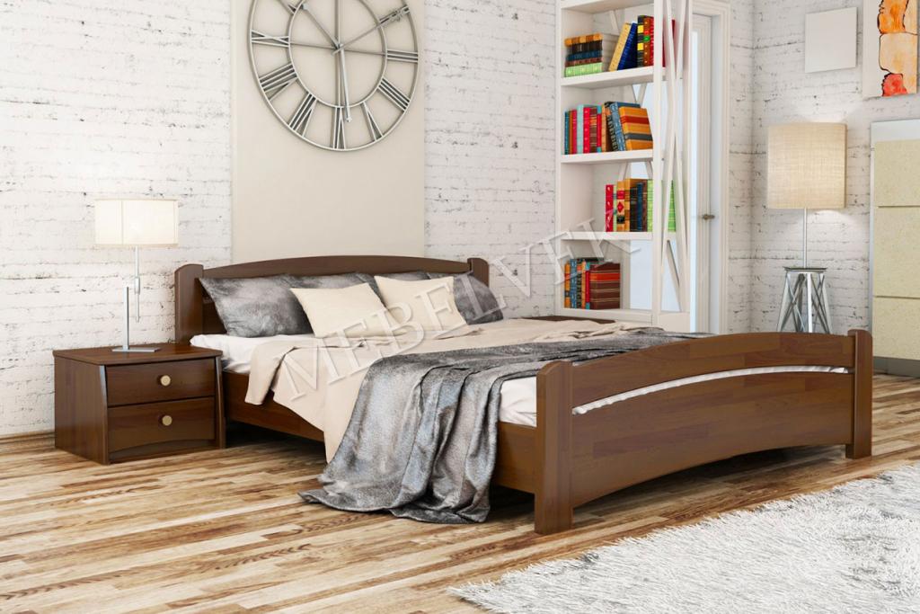 Кровать Валентано Люкс из ясеня