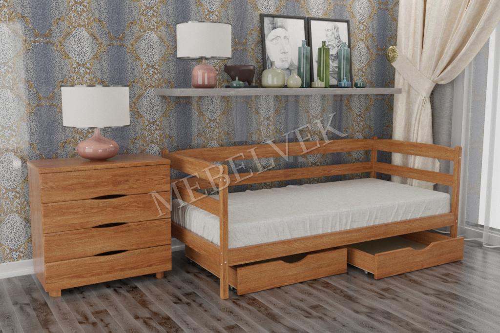 Кровать Вереск из дуба