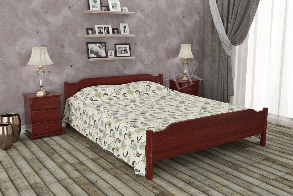 Кровать Вивер из дуба