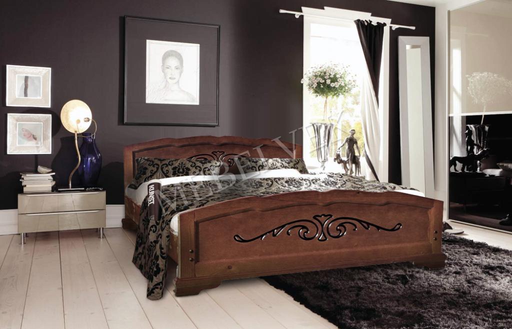 Кровать Будапешт из бука