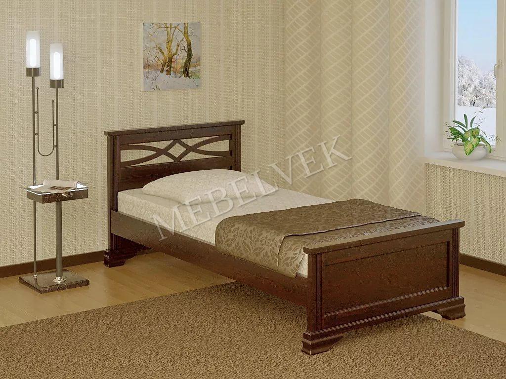 Кровать детская Лучик из дуба