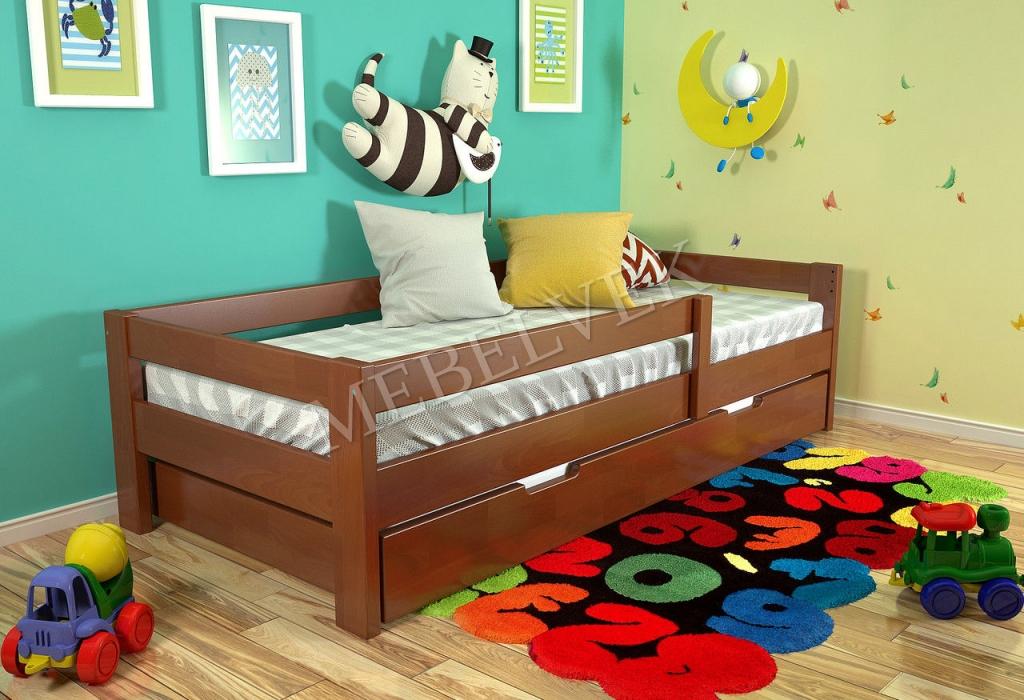 Кровать детская Василиса  из ясеня