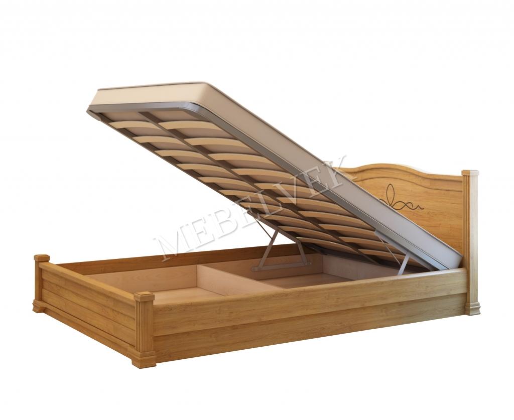 Кровать с подъёмным механизмом Рондо