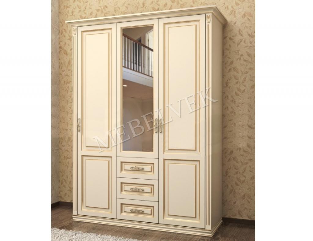 Шкаф Тиффани 3-х створчатый (модель 3)