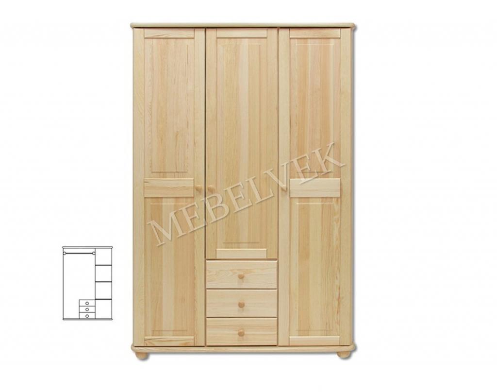 Трехстворчатый шкаф для дачи Витязь 101