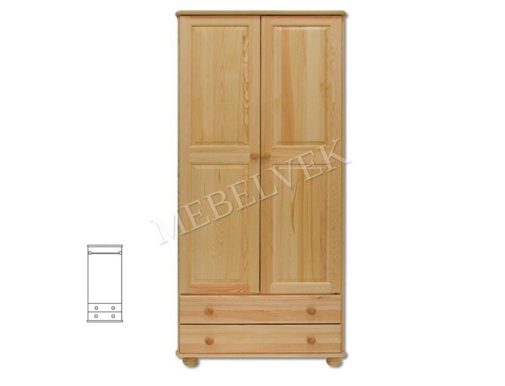Шкаф из массива для дачи Витязь 110