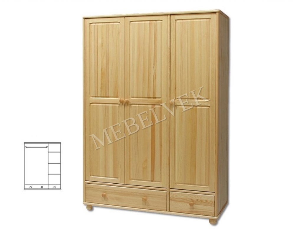 Шкаф для Дачи Витязь 121