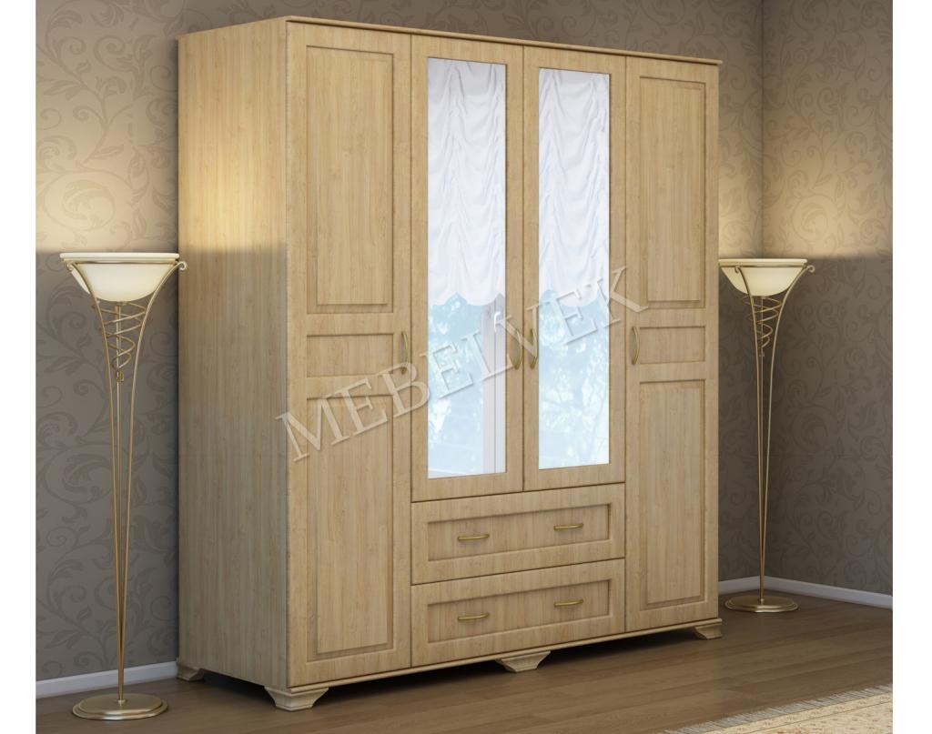 Деревянный шкаф Витязь 240