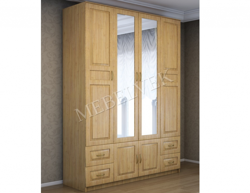 Деревянный шкаф Витязь 244