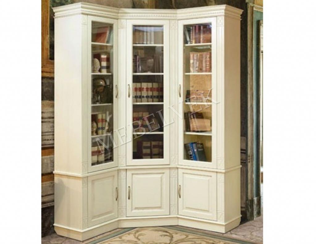 Книжный шкаф Верди угловой 290