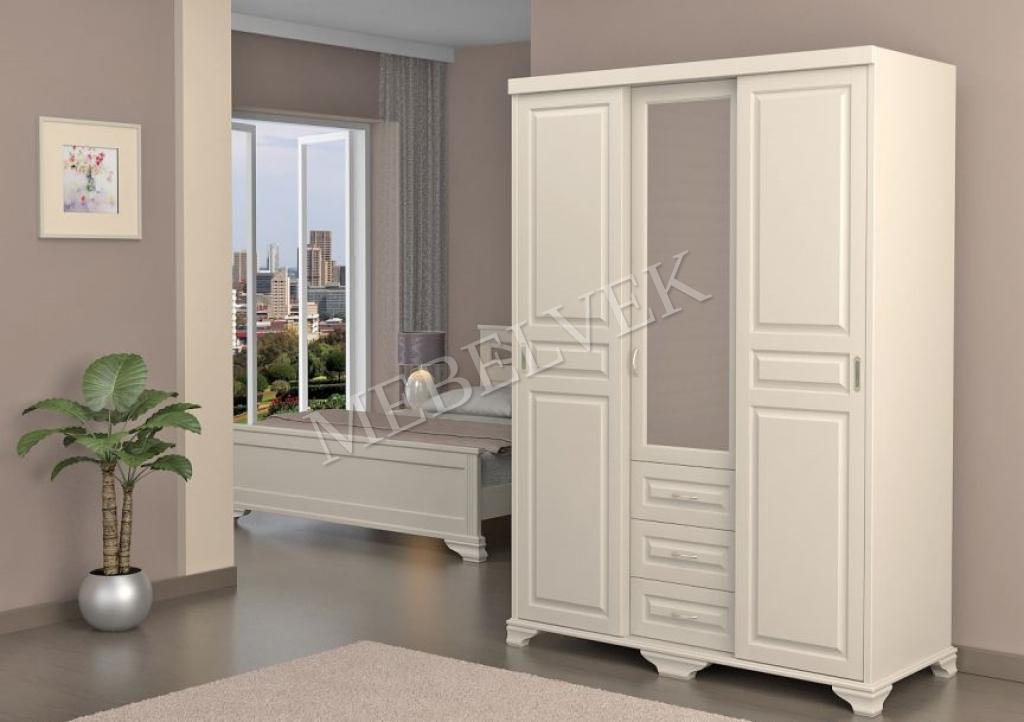 Деревянный шкаф Витязь 253 Купе