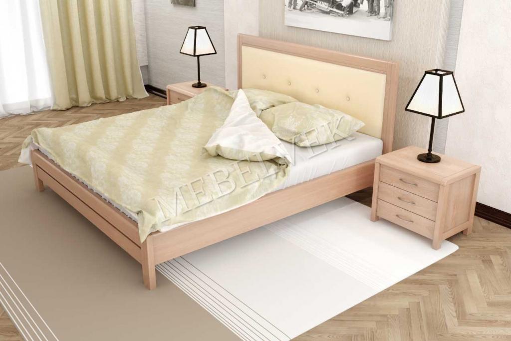 Кровать Вальи с мягким изголовьем
