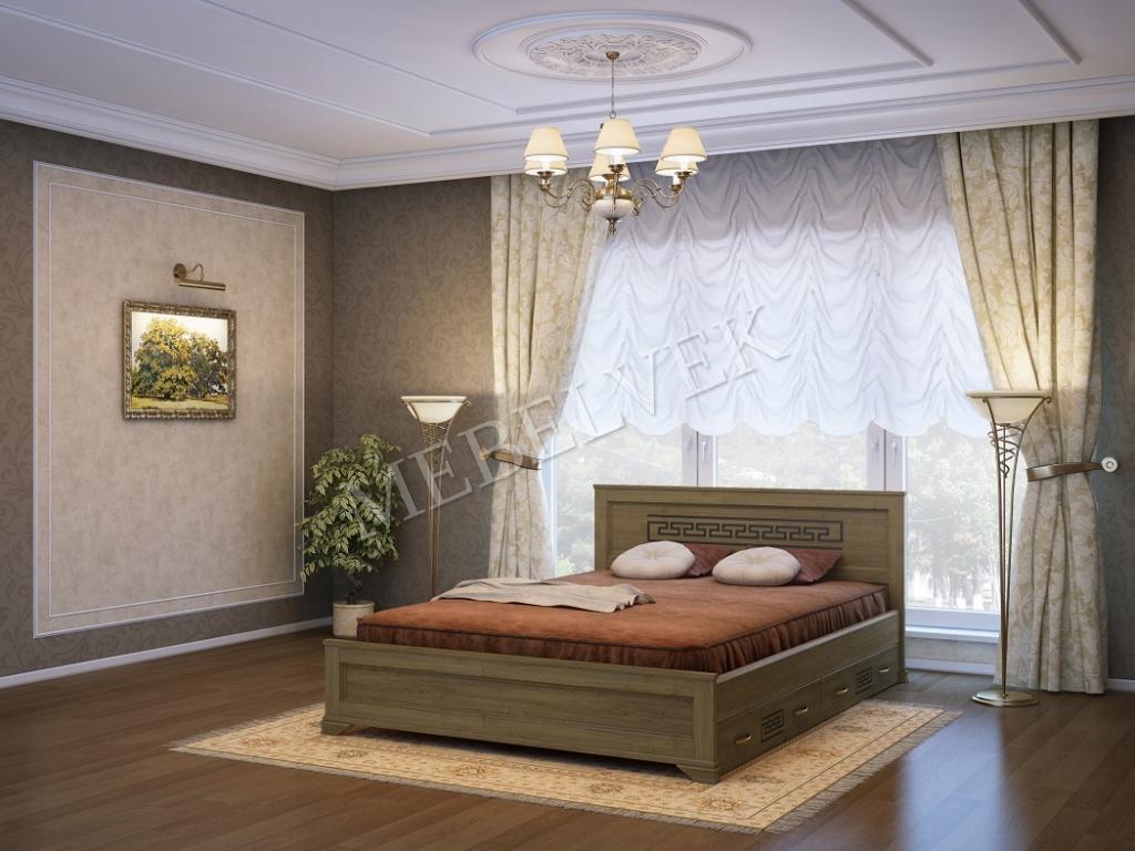 Кровать Венеция c 2 ящиками