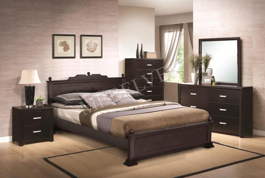 Кровать Венера 2 из дуба
