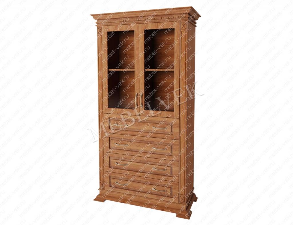 Шкаф витрина Верди 138