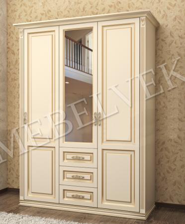 Шкаф Тиффани 3-х створчатый ( модель 3 )