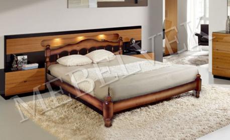 Односпальная кровать Амели