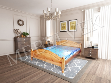 Полутороспальная кровать  Аврора